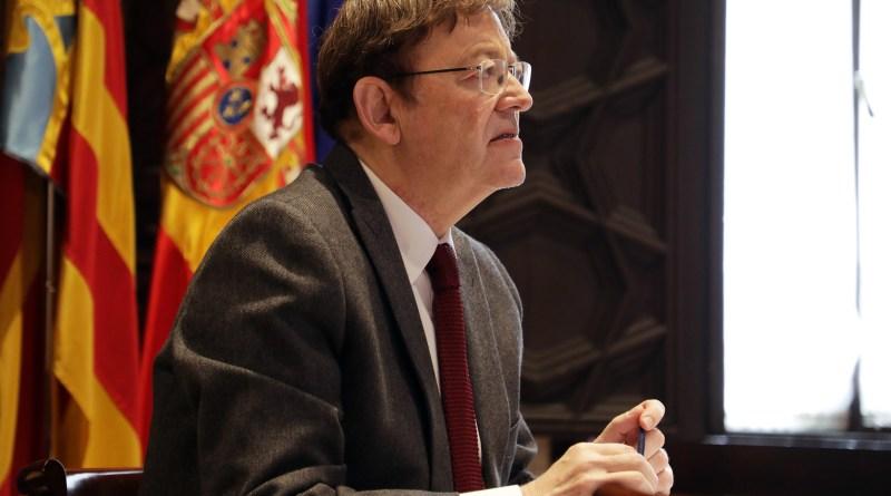 """Ximo Puig insta per carta a 329 líders regionals europeus a què alcin la seva veu davant la UE davant de """"la major emergència des de la Segona Guerra Mundial"""""""