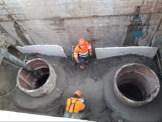 08-03-2021 sistema drenatge Marjaleria durant les obres