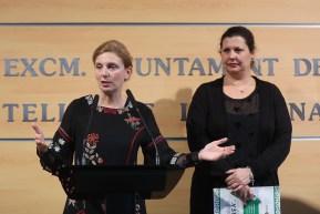 (Archivo) Amparo Marco y Patricia Puerta Balance Empleo