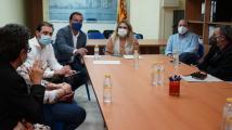 Marta Barrachina reunión sanitarios Vinaròs
