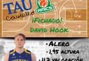 El Tau Castelló es reforça amb David Hook