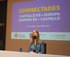 14-09-21 Foto de archivo. Marco en rdp por el Día de Europa