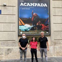 acampada al teatre principal de valencia