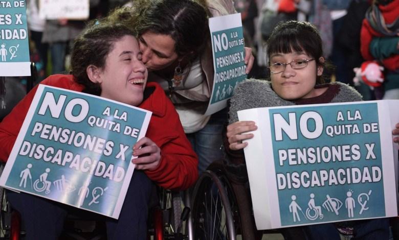 Photo of El Gobierno se niega a restituir pensiones a los discapacitados y apela el fallo de la Justicia