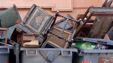 Photo of Tiran muebles históricos de la Casa Rosada a la basura
