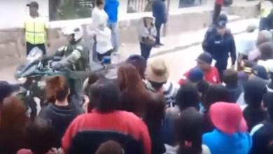 Photo of Vecinos escracharon a Macri en Humahuaca