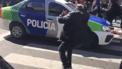 Photo of VIDEO: el momento en que patrullero atropella a trabajador de Astillero Río Santiago