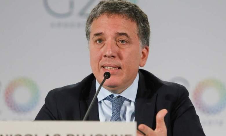 """El cuestionado ministro de Hacienda, Nicolás Dujovne, aseguró que desde diciembre """"la economía comenzó a recuperarse gradualmente"""", y que """"se está generando empleo""""."""