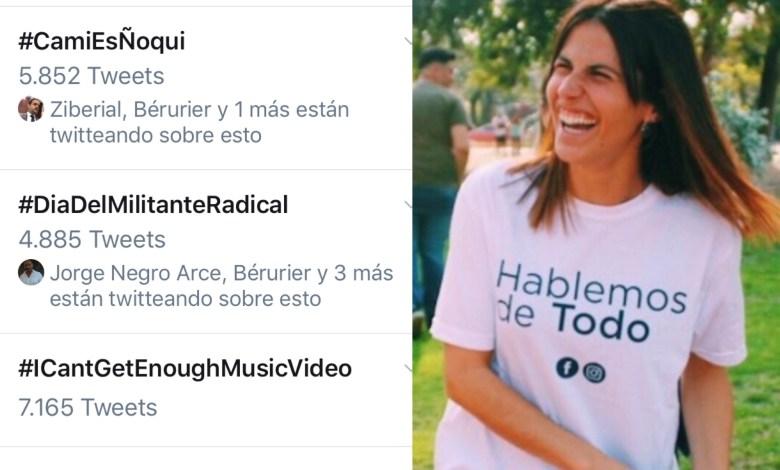 """Photo of """"#CamiEsÑoqui"""" la campaña en redes sociales para denunciar a los jóvenes PRO"""