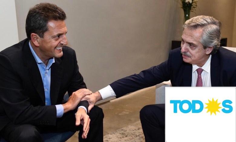 Photo of Alberto Fernández y Sergio Massa competirán por el Frente Todos