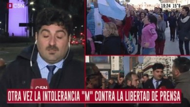 "Photo of Dirigente radical tildó de ""plaga"" a los periodistas de C5N"