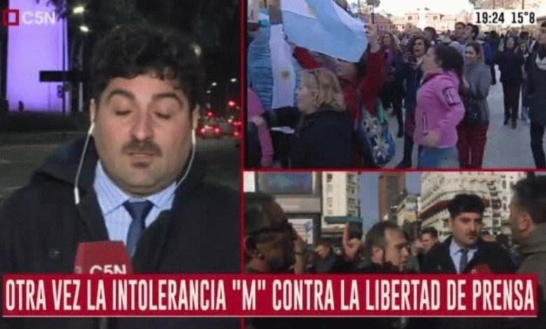 """Photo of Dirigente radical tildó de """"plaga"""" a los periodistas de C5N"""
