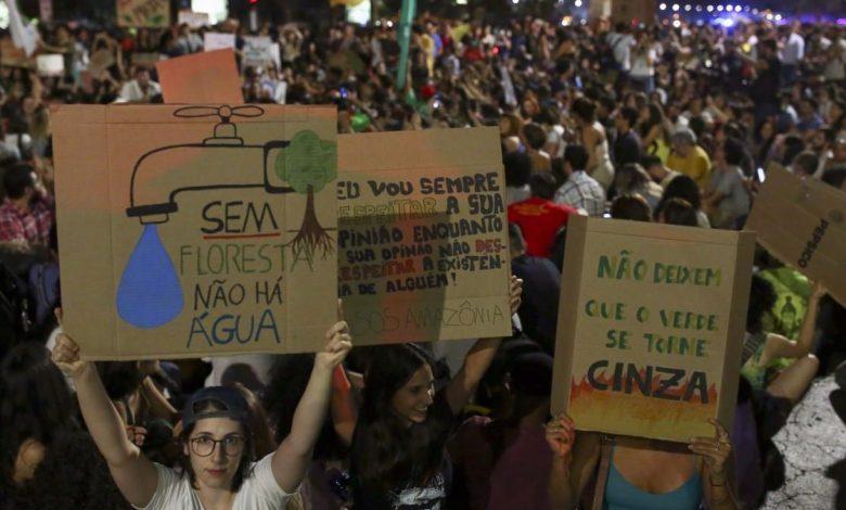 Photo of Ministro de Bolsonaro contra quienes luchan por el cambio climático