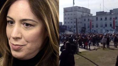 Photo of Agónica marcha en apoyo a María Eugenia Vidal en Morón