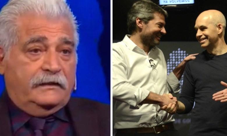 Photo of Jorge Asís fulminante con Matías Lammens después del debate porteño
