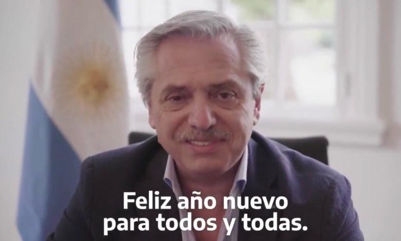 Photo of El saludo de Alberto Fernández por fin de año