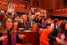 """Photo of En Turquía reprimieron a mujeres que cantaban """"Un violador en tu camino"""" y la oposición salió al cruce"""