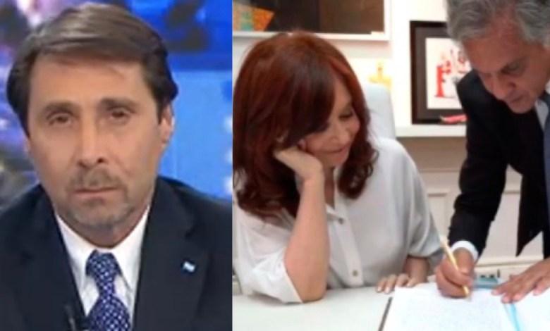 Photo of La bronca de Eduardo Feinmann porque Cristina Kirchner vuelve a ser presidenta