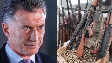 Photo of Denuncian que Macri y Cambiemos administraba un arsenal de armas ilegales