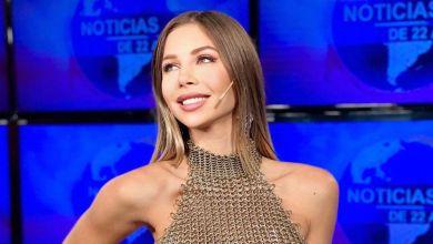 Photo of Romina Malaspina condujo sin corpiño Canal 26 y estallaron las redes