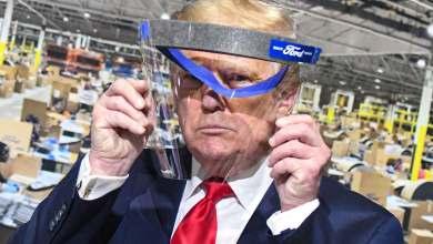 """Photo of Trump usó barbijo y le gustó: """"Me veía como El Llanero Solitario"""""""