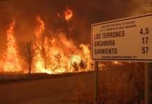 Photo of Alerta máxima por incendios en Córdoba, mientras no cesan en el delta del Paraná