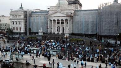 Photo of Otra marcha anticuarentena, esta vez frente al Congreso por la reforma judicial