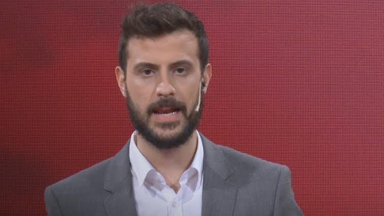 El increíble festejo de Diego Leuco al enterarse de un posible aumento de casos de coronavirus