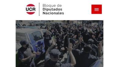 Photo of La UCR salió a respaldar la sublevación policial