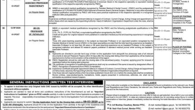 Ppsc jobs advertisement no 8