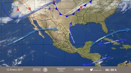 Frente frío trae fuertes vientos para Nicaragua