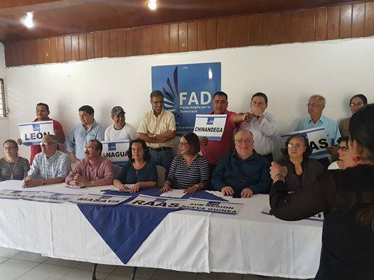 COMUNICADO AL PUEBLO DE NICARAGUA (FAD)
