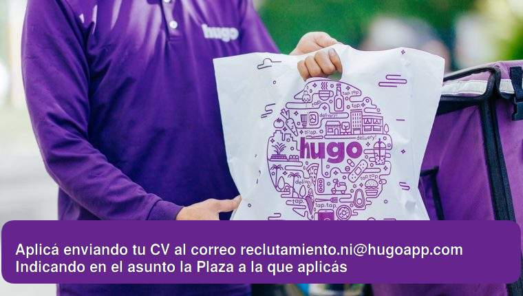 Drivers motorizados para delivery – Hugo