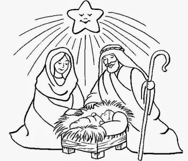 Dibujos De Navidad Para Colorear - Dibujo-de-navidad-para-colorear-e-imprimir