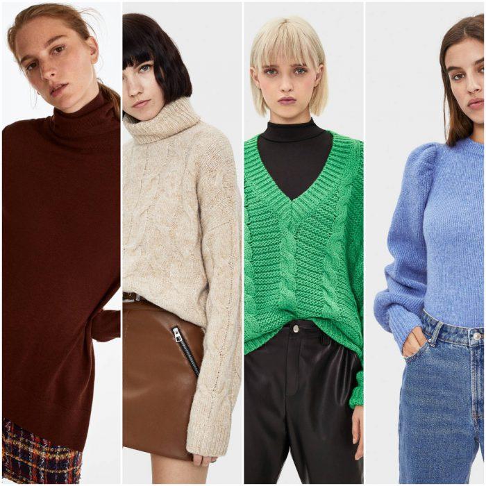 tejidos de punto para mujer de moda invierno 2020