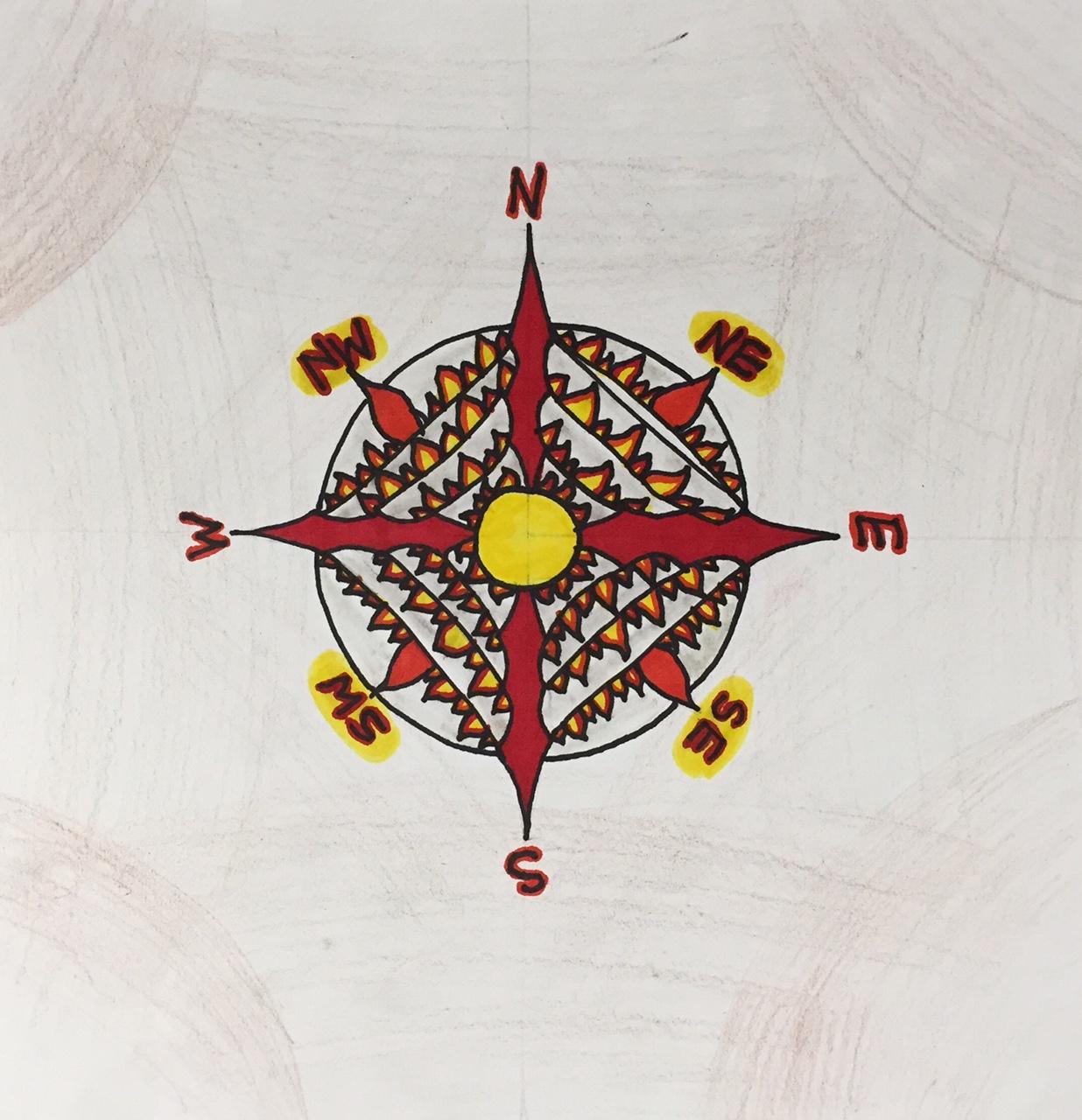 3rd Grade Compass Rose