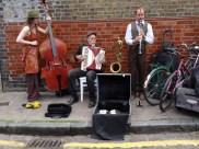 Jazz in the street.