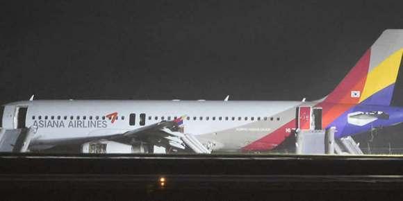 Avión se despista en Japón; al menos 20 heridos