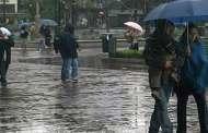 Lluvias en la mayor parte del país