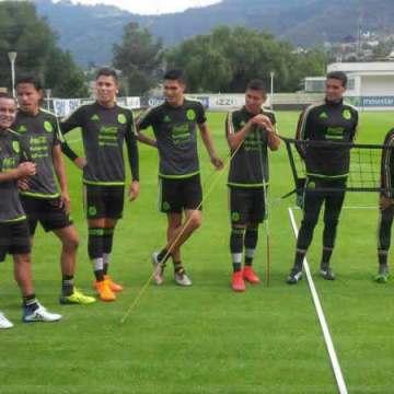 La selección nacional de México sigue cerrando filas