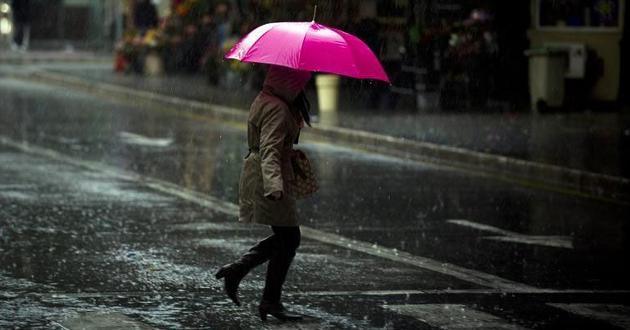 Disminución en el potencial de lluvias