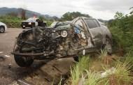 Un muerto tras chocar contra un trailer sobre la autopista Coita - Arriaga