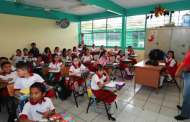 Trabajan en Chiapas, 96.9% de las escuelas