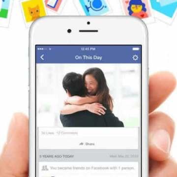 Facebook permitirá elegir lo que quieras ver en 'Un día como hoy'