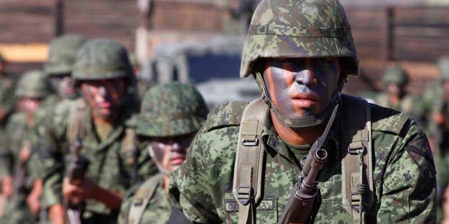 Conmemoran el 103 aniversario del día del Ejército mexicano en la 36 zona militar