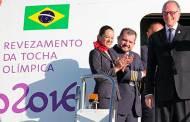 Llega llama olímpica a Brasil; Rousseff admite inestabilidad política