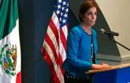 Embajadora promete avance amplio en relaciones EUA-México