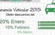 El 30 de junio finaliza el programa  de descuentos para el pago de tenencia vehicular