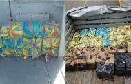 Marina asegura 900 kilos de coca que flotaban en el mar