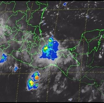 Presencia de «Frank» propiciará tormentas en la mayor parte del país